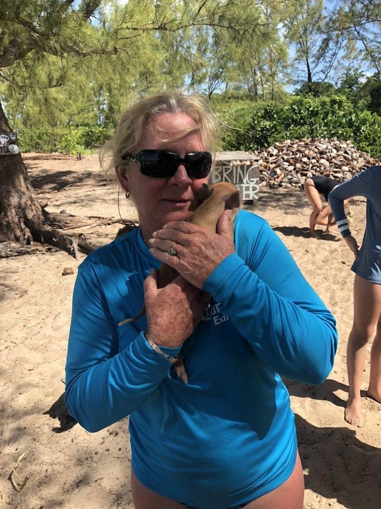 Pig Island Abacos Bahamas